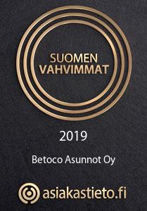 Betoco Asunnot - Suomen Vahvimmat